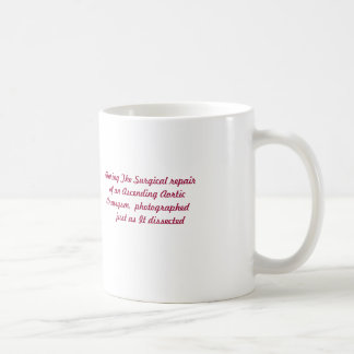 Ascending  Aortic  Dissection Coffee Mug