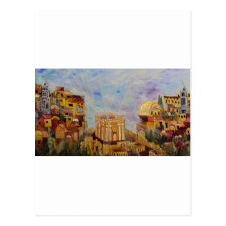 Ascending to Jerusalem Postcards