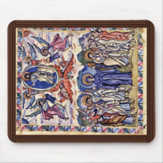 Ascension By Meister Des Rabula-Evangeliums (Best Mouse Pad