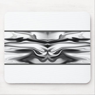 Ascension - chrome angel abstract mouse pad