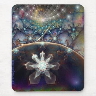 Ascensión cristalina alfombrilla de ratón