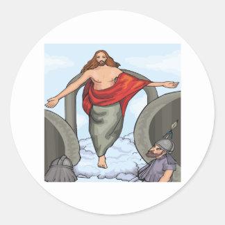 Ascension Day Classic Round Sticker