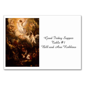 Ascensión de Cristo con ángeles