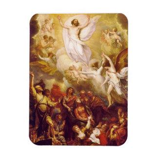 Ascensión de Cristo con ángeles Imanes Flexibles