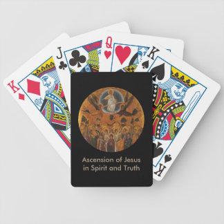 Ascensión de Cristo en verdad y amor Baraja Cartas De Poker