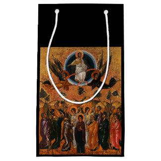 Ascensión de Cristo en verdad y amor Bolsa De Regalo Pequeña