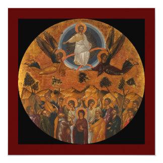 """Ascensión de Cristo en verdad y amor Invitación 5.25"""" X 5.25"""""""
