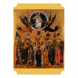 """Ascensión de Cristo en verdad y amor Invitación 5"""" X 7"""""""