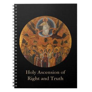 Ascensión de Cristo en verdad y amor Libro De Apuntes
