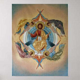 Ascensión del poster de Cristo