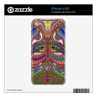 Ascension i-phone 4 Case Decal For iPhone 4S