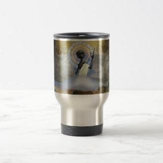Ascension of Alien Jesus Travel Mug