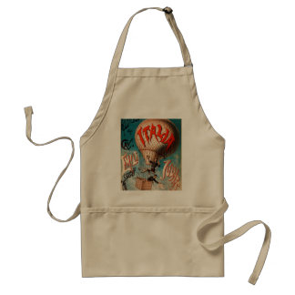 Ascension of Cav. Emile Julhes... Adult Apron
