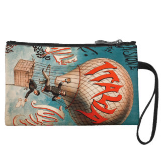 Ascension of Cav. Emile Julhes... Wristlet Clutch