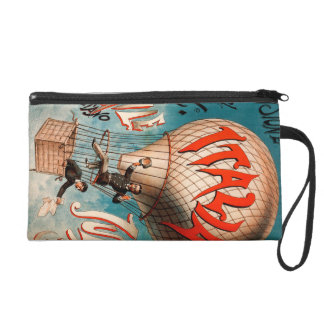 Ascension of Cav. Emile Julhes... Wristlet Purse