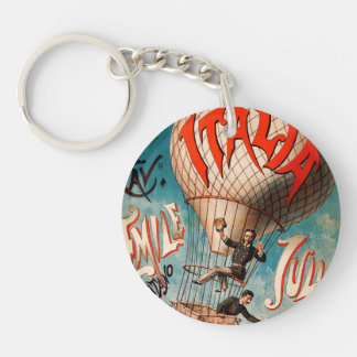 Ascension of Cav. Emile Julhes... Keychain