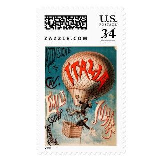 Ascension of Cav. Emile Julhes... Postage Stamp