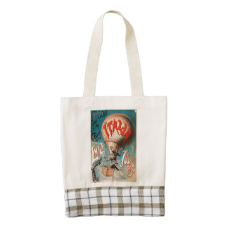 Ascension of Cav. Emile Julhes... Zazzle HEART Tote Bag