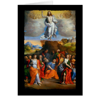 Ascension of Christ c1510 Greeting Card