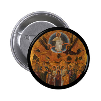 Ascension of Christ in Truth and Love 2 Inch Round Button
