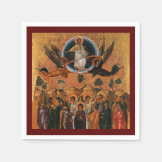 Ascension of Christ in Truth and Love Napkin
