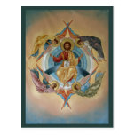 Ascension of Christ Prayer Card Postcard
