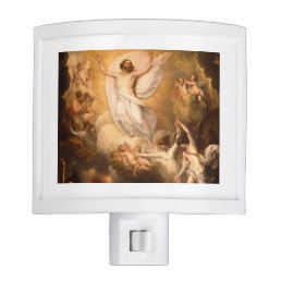 Ascension of Christ with Angels Night Light