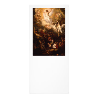 Ascension of Christ with Angels Rack Card