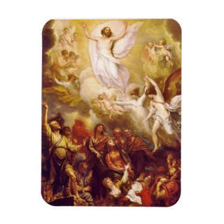 Ascension of Christ with Angels Rectangular Photo Magnet