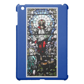 Ascension of Jesus stained glass window Cover For The iPad Mini
