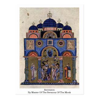 Ascensión por el amo de los sermones del monje postales