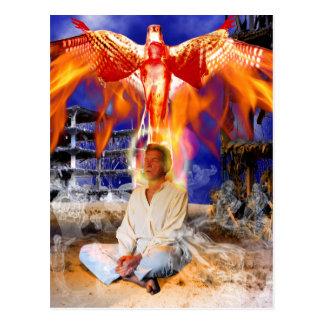Ascension Tarot Card Art Postcard