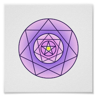 Ascent Of Love Sigil Poster