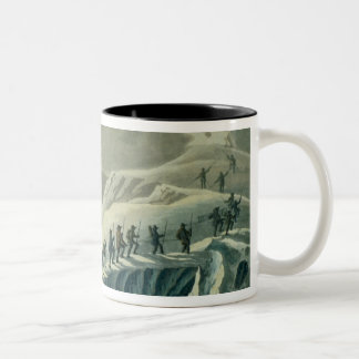 Ascent of Mr. De Saussure to the Summmit of Mont B Coffee Mugs