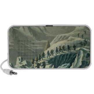 Ascent of Mr. De Saussure to the Summmit of Mont B Portable Speaker