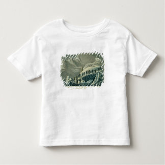 Ascent of Mr. De Saussure to the Summmit of Mont B Tshirt