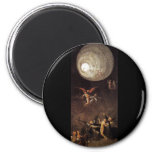 Ascent of the Blessed, by Hieronymus Bosch 2 Inch Round Magnet