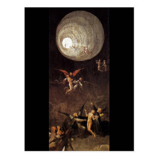 Ascent of the Blessed, by Hieronymus Bosch Postcard