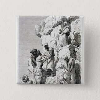 Ascent of the Great Pyramid, 19th century Button