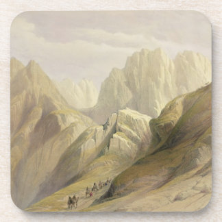 Ascent of the Lower Range of Sinai, February 18th Beverage Coaster