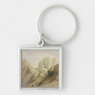 Ascent of the Lower Range of Sinai, February 18th Keychain