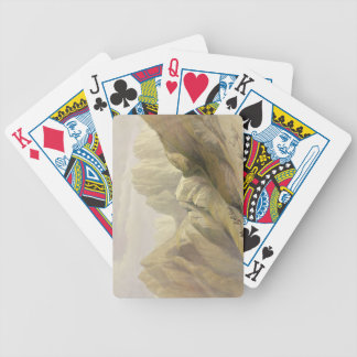 Ascent of the Lower Range of Sinai, February 18th Bicycle Playing Cards