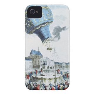 Ascent of the Montgolfier brothers hot-air balloon Case-Mate iPhone 4 Case