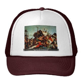 Ascent To Calvary, The Cross Of Christ Hats
