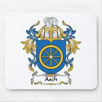 Asch Family Crest Mousepad