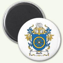 Asch Family Crest Magnet