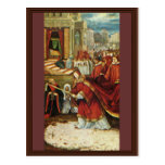 Aschaffenburg Altar Right Wing: Founding Of Santa Postcard