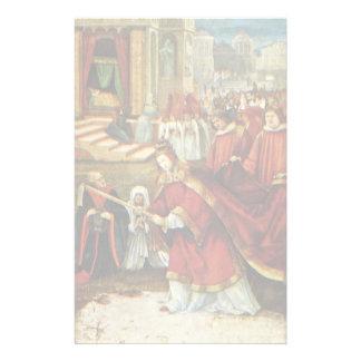 Aschaffenburg Altar Right Wing: Founding Of Santa Stationery