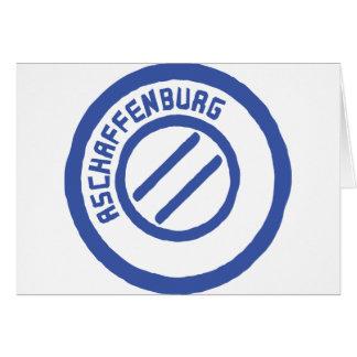 Aschaffenburg Card