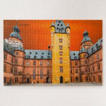 Aschaffenburg Castle Germany. Jigsaw Puzzle